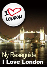 I Love London - Ny Reseguide till London.
