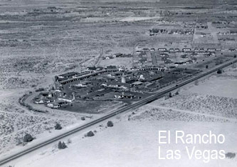 El Rancho på the Strip i Las Vegas.